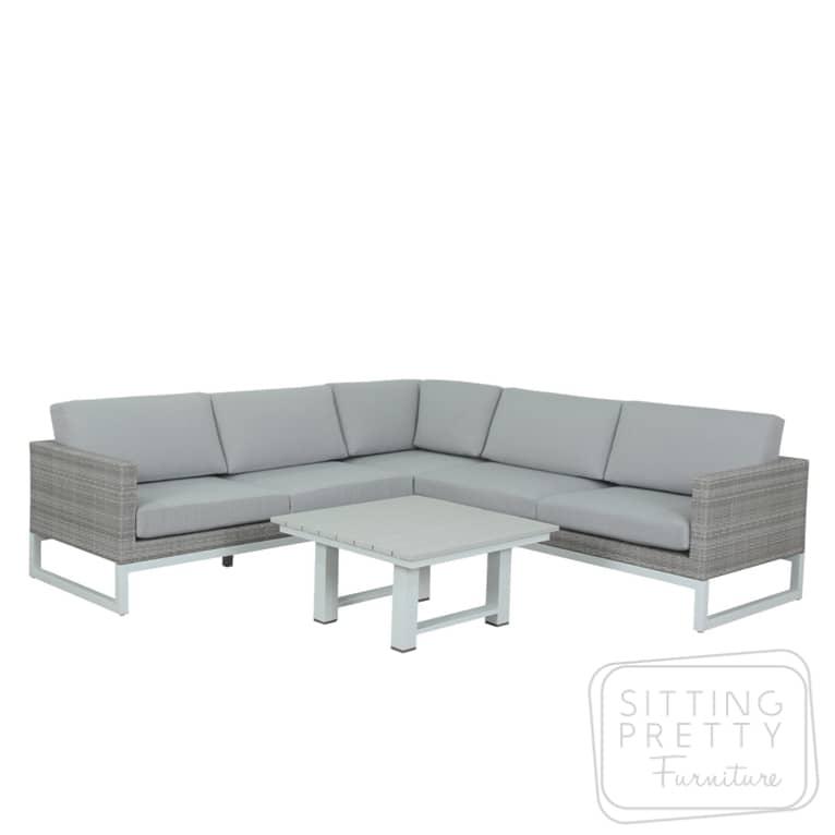 Mikado Three Piece Corner Lounge Set – ALMOST GONE