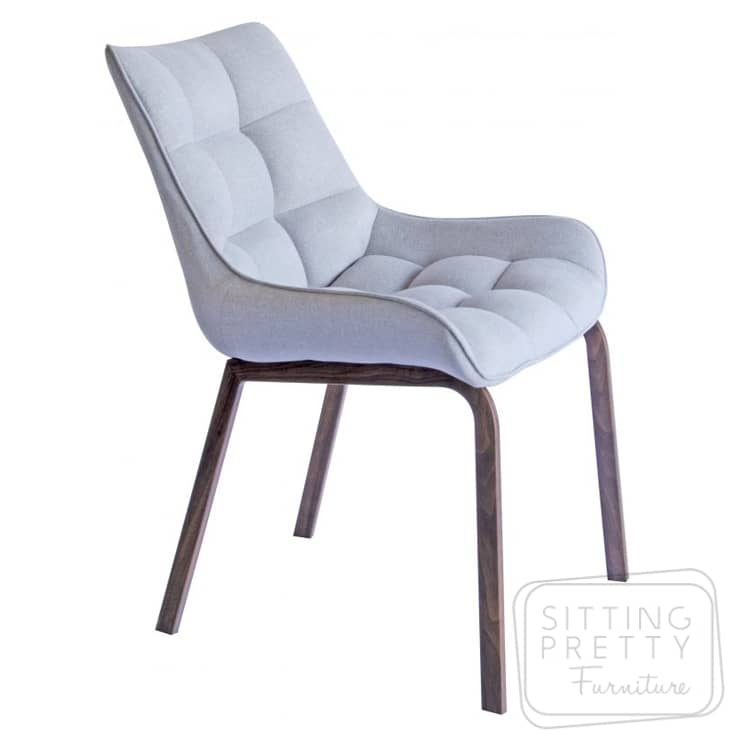Burswood Chair – Walnut Leg