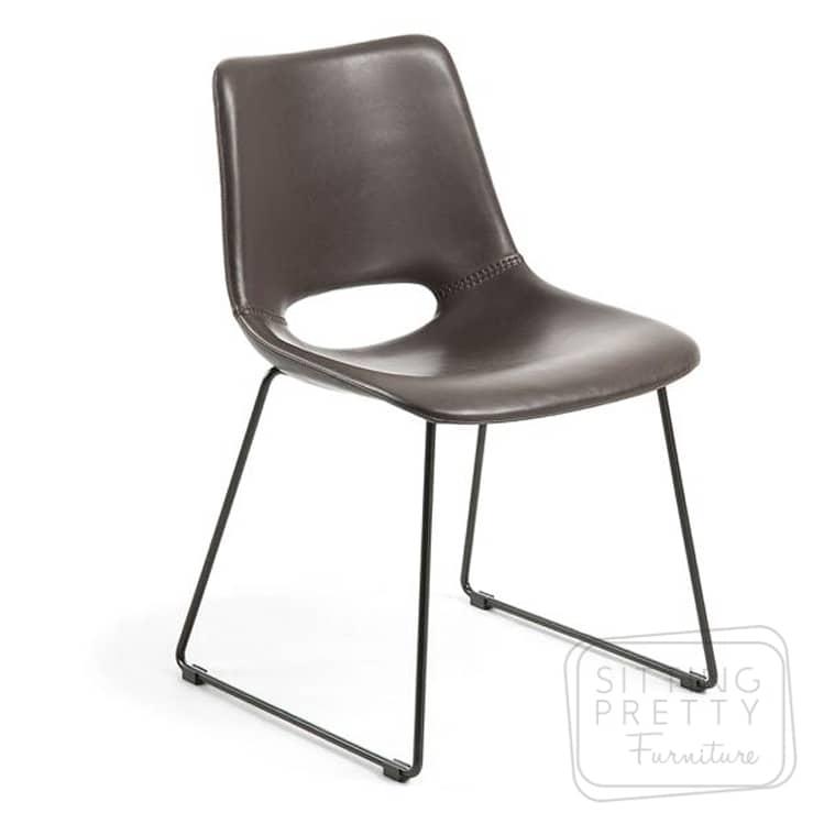 Ziggy Chair – Dark Brown by LaForma