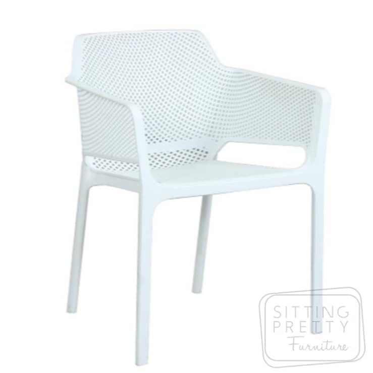 Bailey Stackable Chair – White