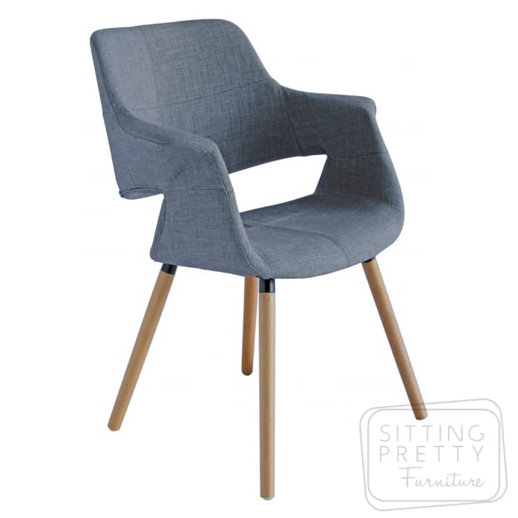 Balmoral Chair – Light Grey