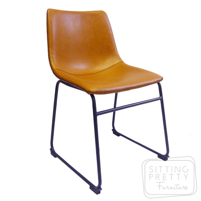 Tan Leather Lounge Perth