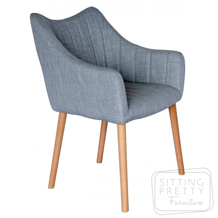 Bermuda Chair – Grey Fabric