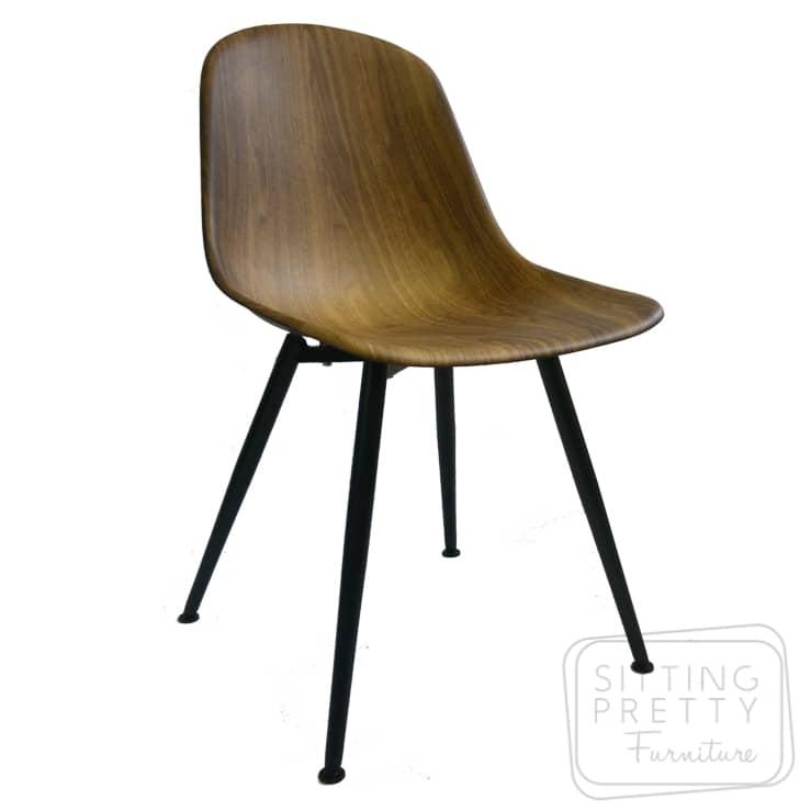 Blaq Chair – Walnut Look
