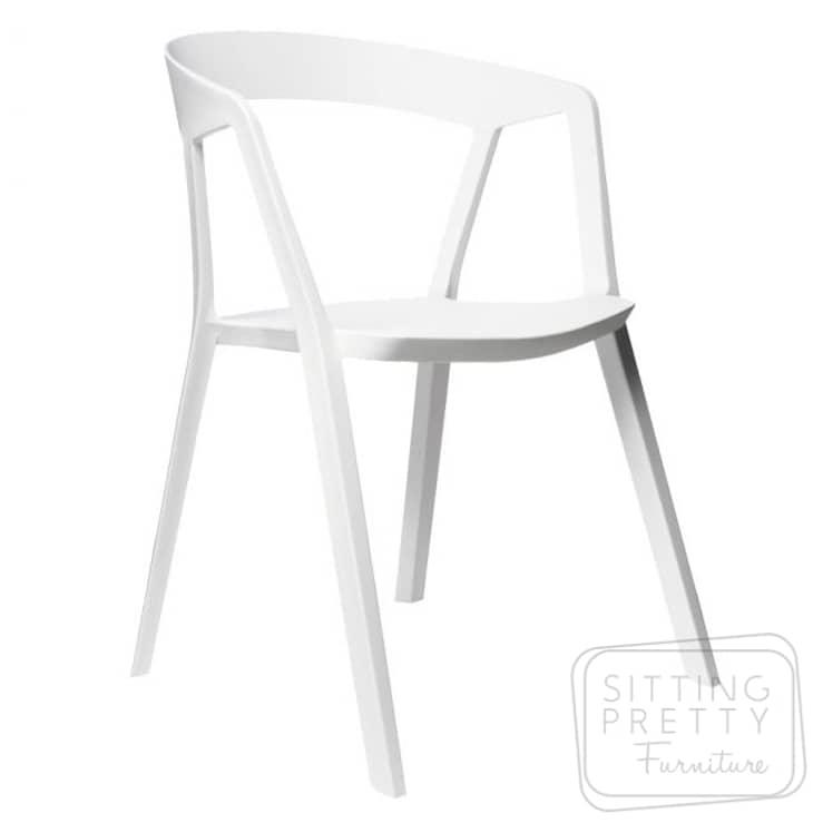 Replica Compas Chair – White – ALMOST GONE