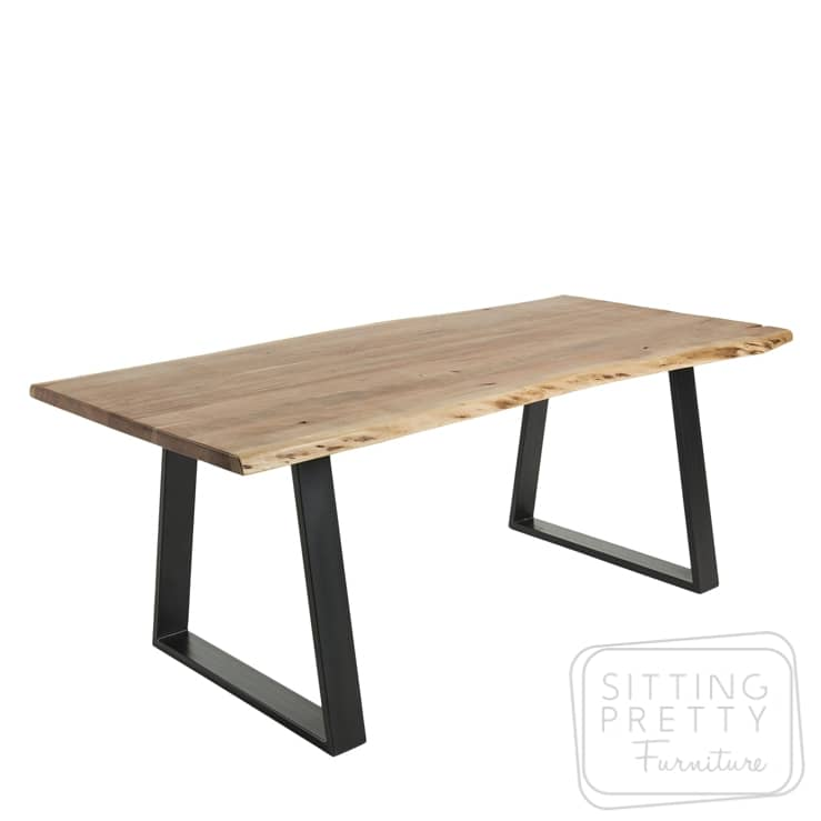 Sono Natural Edge Table – 220cm by LaForma