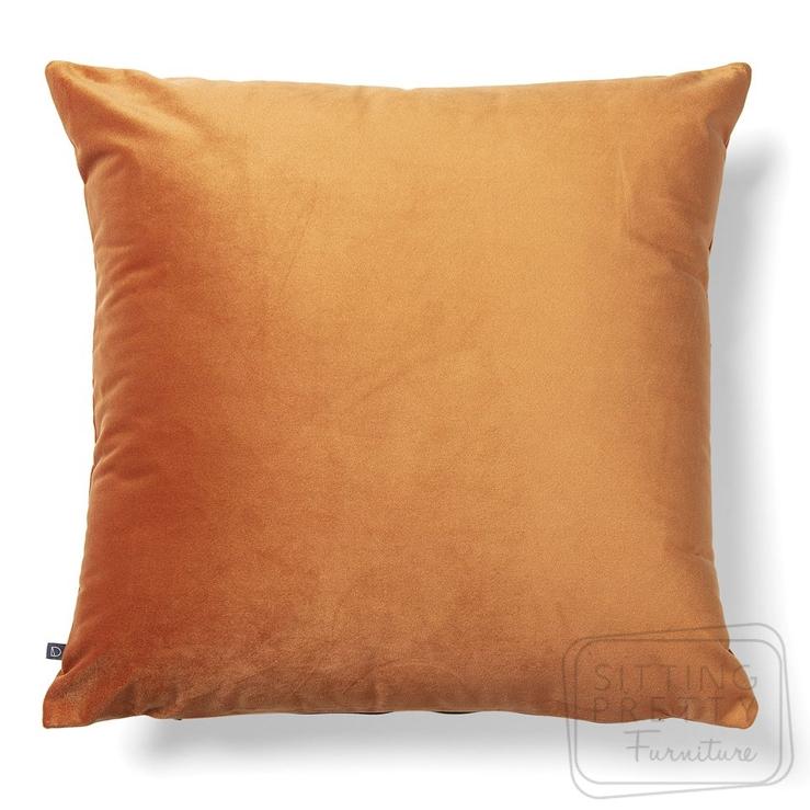Jolie Cushion – Rust Velvet by LaForma