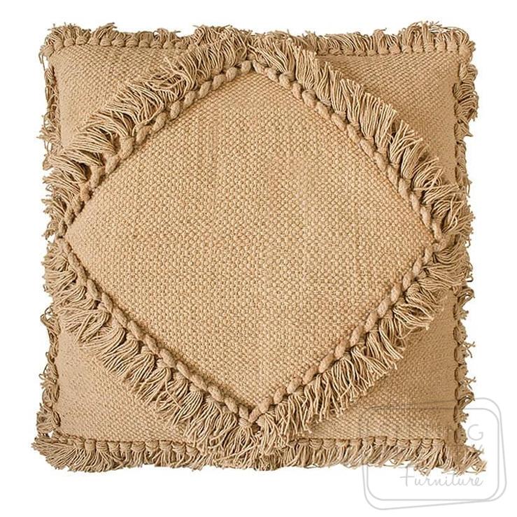 Oasis Cushion – Fawn by Bambury