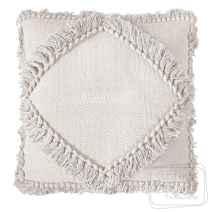 Oasis Cushion – White by Bambury