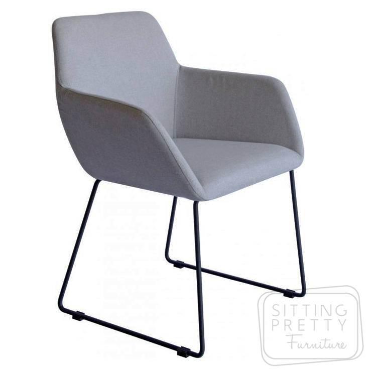 Pax Chair – Dove Grey Fabric