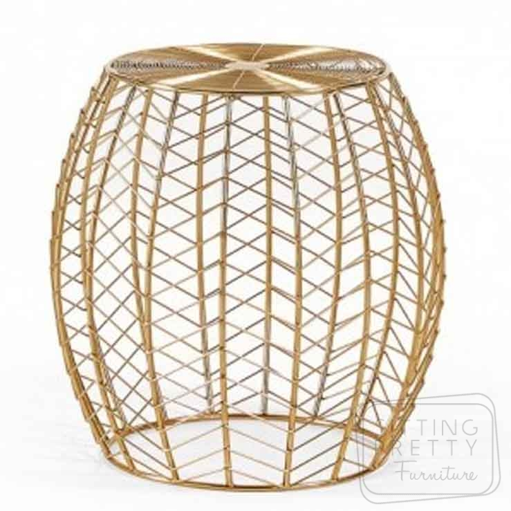 Ronna Sidetable – Gold