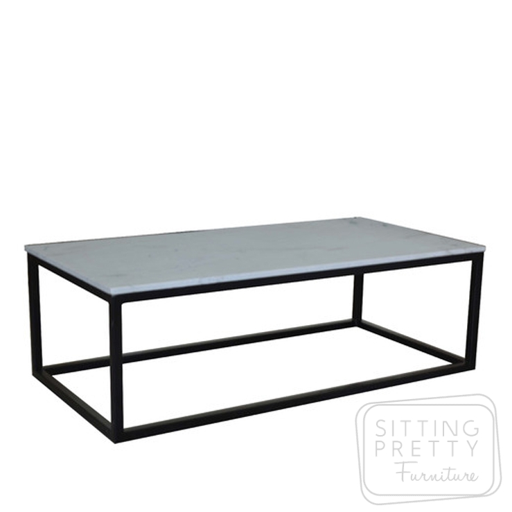 Beacon Coffee Table – Quartz Top