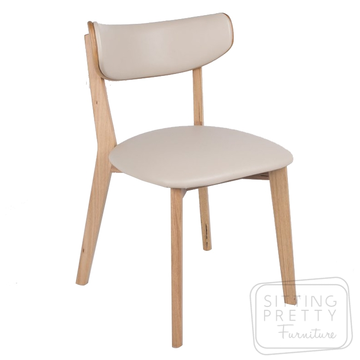 Oska Messmate Chair – Taupe PU seat
