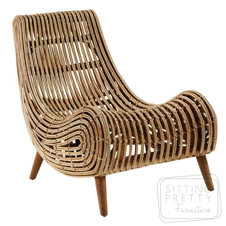 Akit Rattan Chair by LaForma