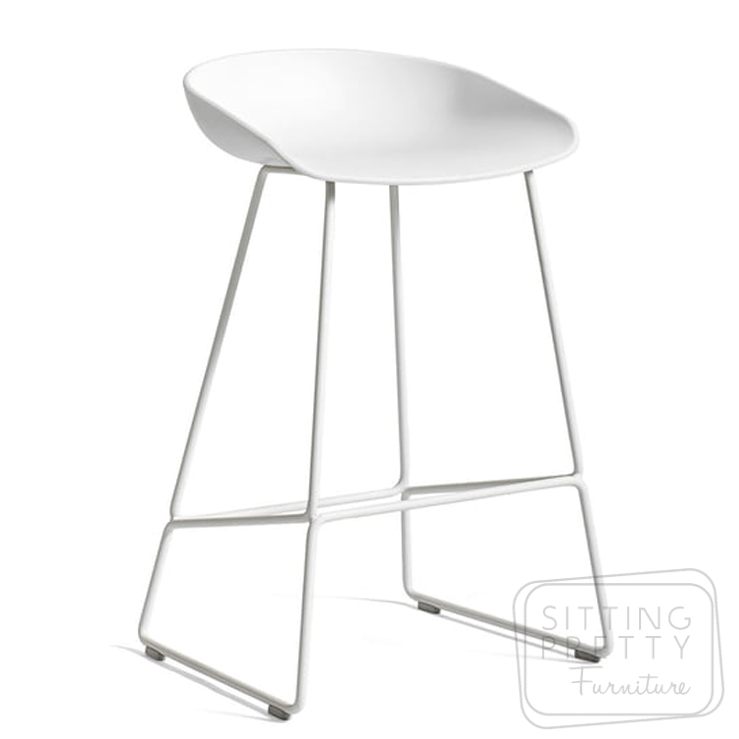 Replica Hay Stool – White