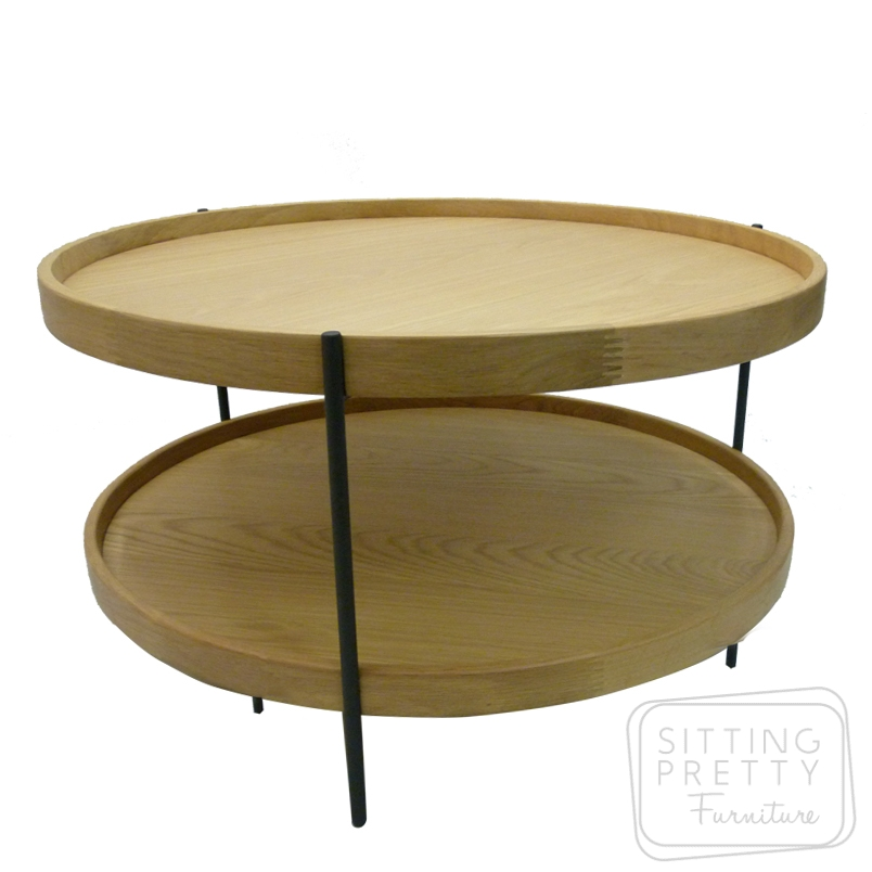 Scan American Oak Coffee Table