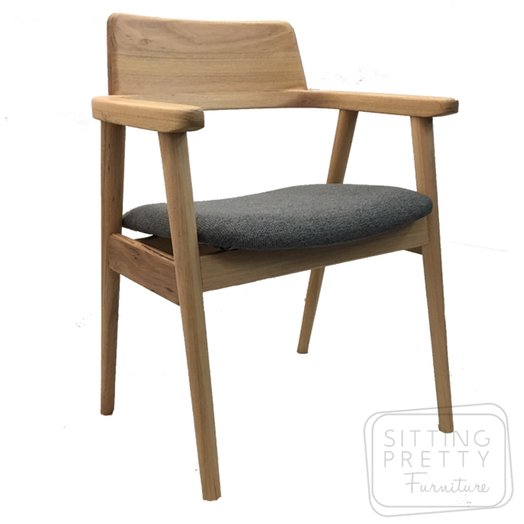 Muri Vic Ash Chair with Upholstered Seat