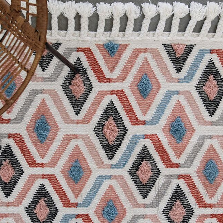 Pink Sahara Rug by Oh Happy Home