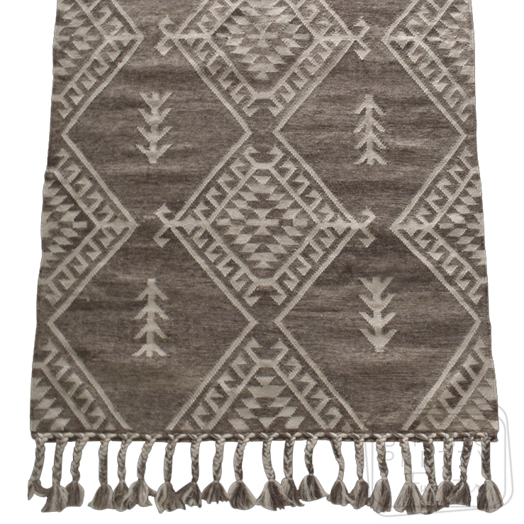 Turchia – Taupe Wool Rug by Oh Happy Home