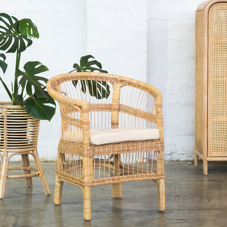 Malawi Rattan Chair – Natural