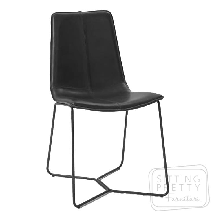 Myles Dining Chair – Black