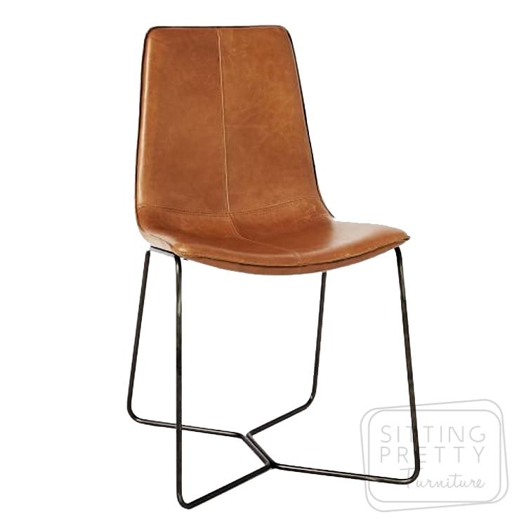 Myles Dining Chair – Tan