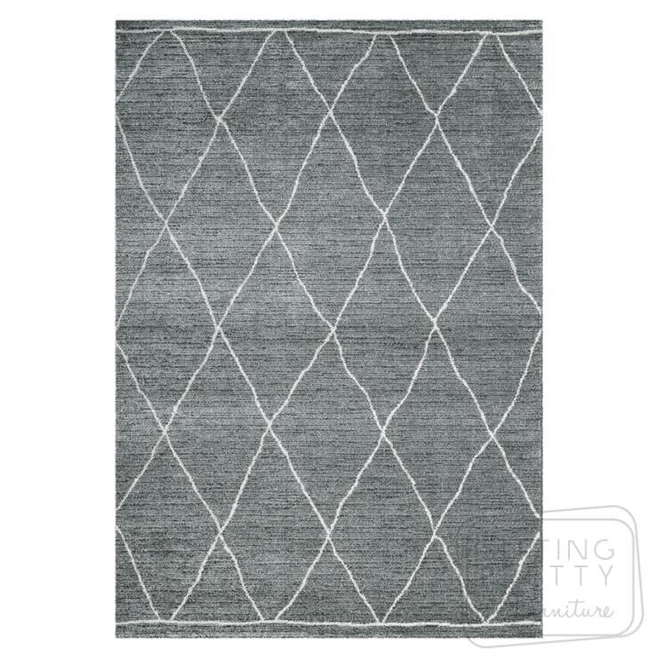 Sherpa Rug – Grey