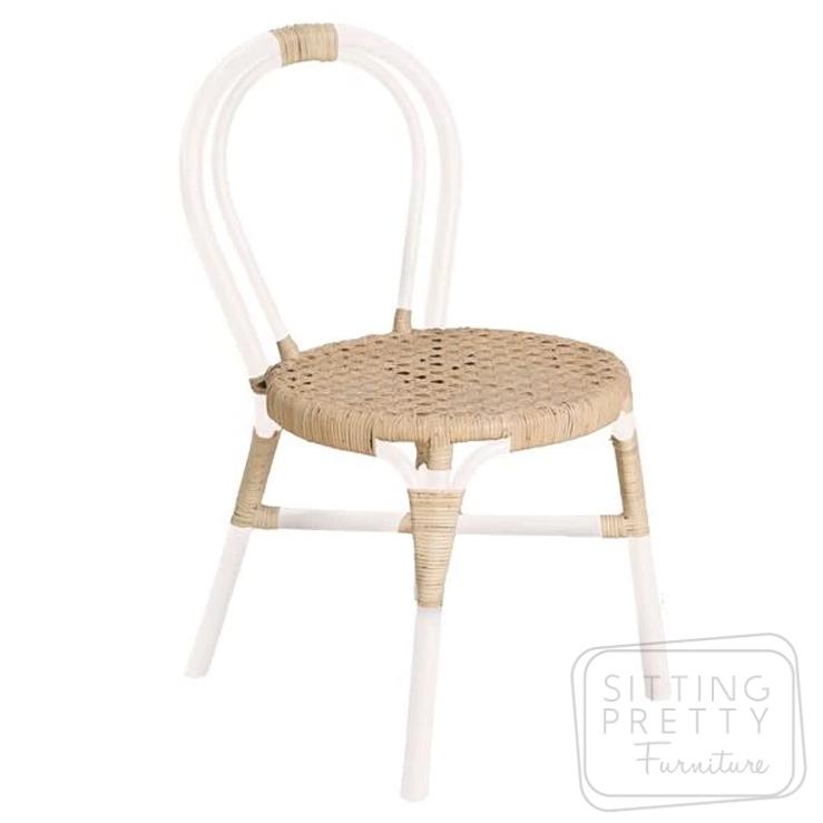 Wasabi Rattan Chair – White