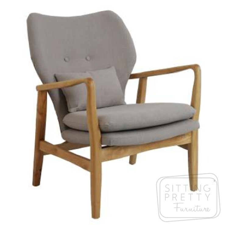 Lucca Occasional Chair – Beige