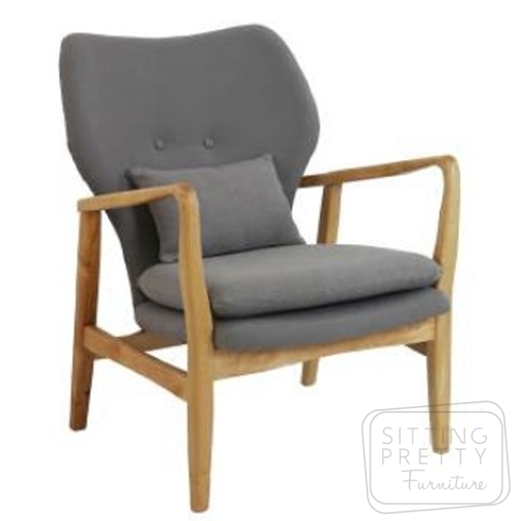 Lucca Occasional Chair – Grey