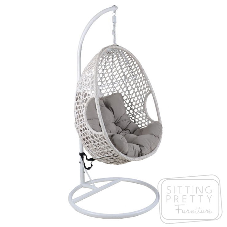 Pod Hanging Chair – White – ALMOST GONE