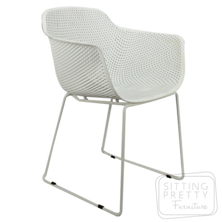 Lilac Chair – White