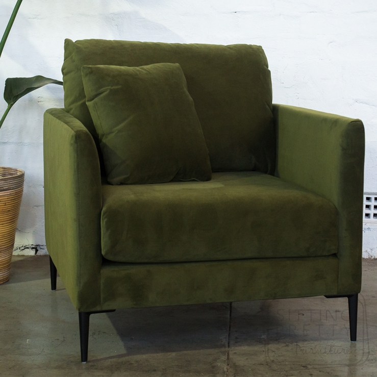 "Bella Single Seater – ""Vine"" Velvet"