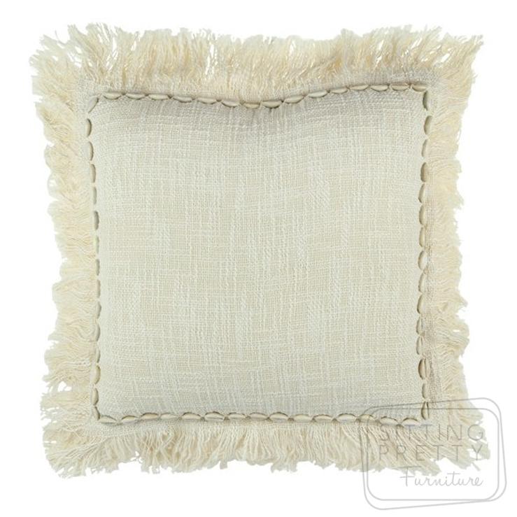 Cowry Shell Cushion