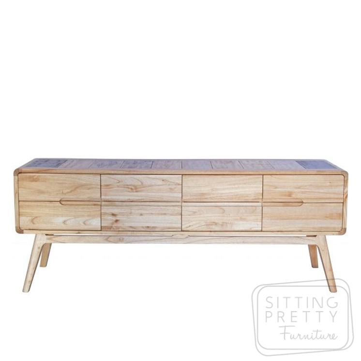 Jackson White Cedar Dresser – 8 Drawers